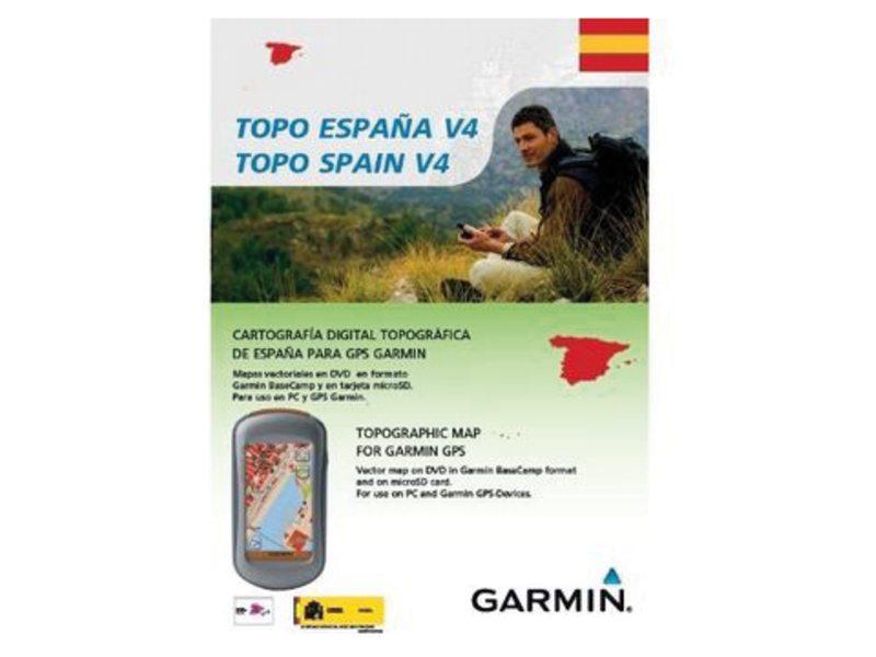 NAVDL GARMIN TOPO SPANJE V5 PRO DVD & MICROSD
