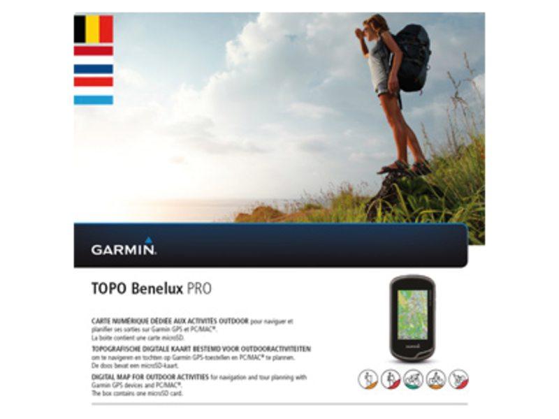 NAVDL GARMIN TOPO BENELUX PRO DVD + MICRO SD