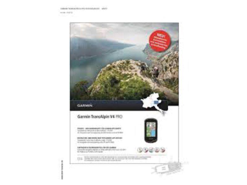 NAVDL GARMIN TOPO TRANSALPINE V4 PRO DVD + MICRO SD