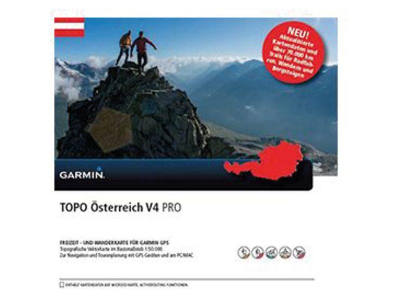 NAVDL GARMIN TOPO OOSTENRIJK V4 PRO DVD + MICRO SD