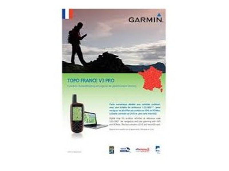 NAVDL GARMIN TOPO FRANKRIJK V4 GEHEEL PRO DVD + MICROSD