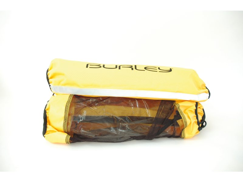 FIETSKARDL BURLEY COVER 2 IN 1 ZON EN REGENSCHERM HONEY BEE