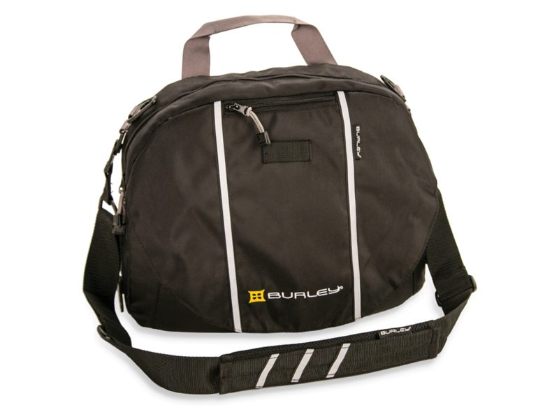 FIETSKARDL BURLEY TRAVOY UPPER TRANSIT BAG, BLACK