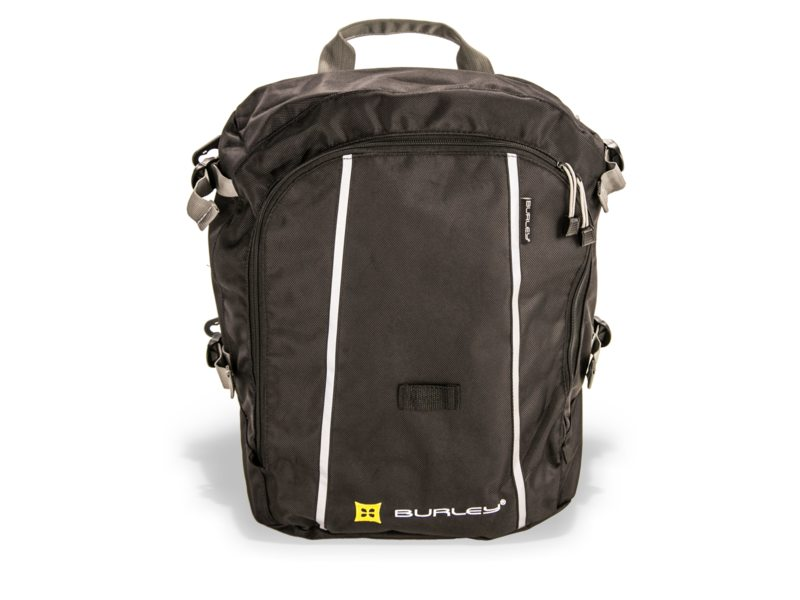 FIETSKARDL BURLEY TRAVOY LOWER TRANSIT BAG, BLACK