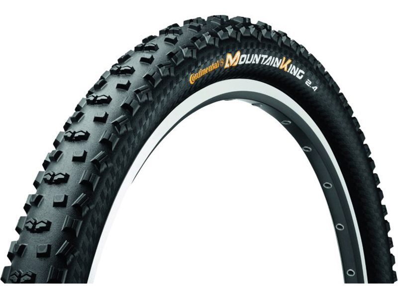 BUB 27.5X2.35 60-584  650B CONTI MOUNTAIN KING II 2.4  ZWART