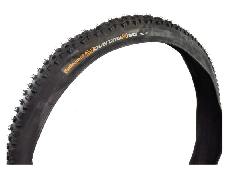 BUB 27.5X2.4 60-584 VOUW 650B CONTI MOUNTAIN KING II 2.4 RS + BCC ZWAR