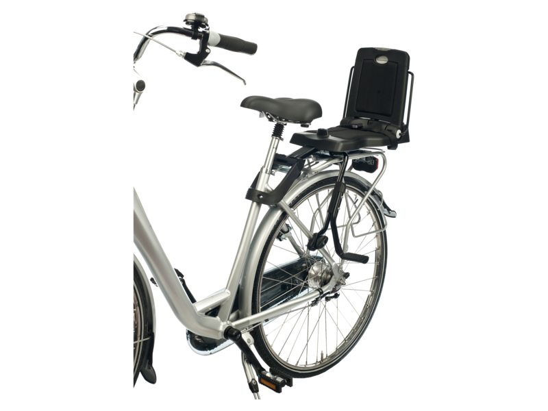 DUO A BOBIKE CLASSIC JUNIOR URBAN BLACK MET MONTAGESET