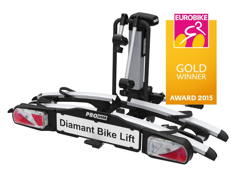 DRAGER FIETS PRO USER DIAMANT BIKE LIFT VOUWBAAR INCL OPBERGHOES