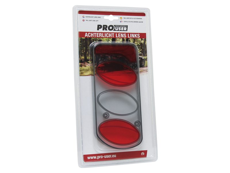 DRAGERDL PRO USER BLISTER ACHTERLICHT 5 FUNCTIES GLAS LINKS