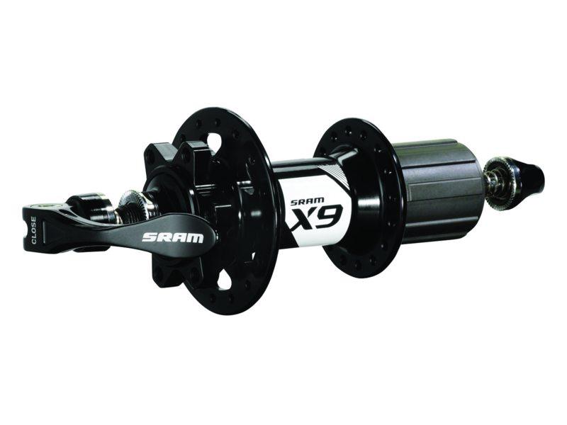 NAAF A SRAM MTB X9 6-BOLT 32GTS 135 OLD INCL QR