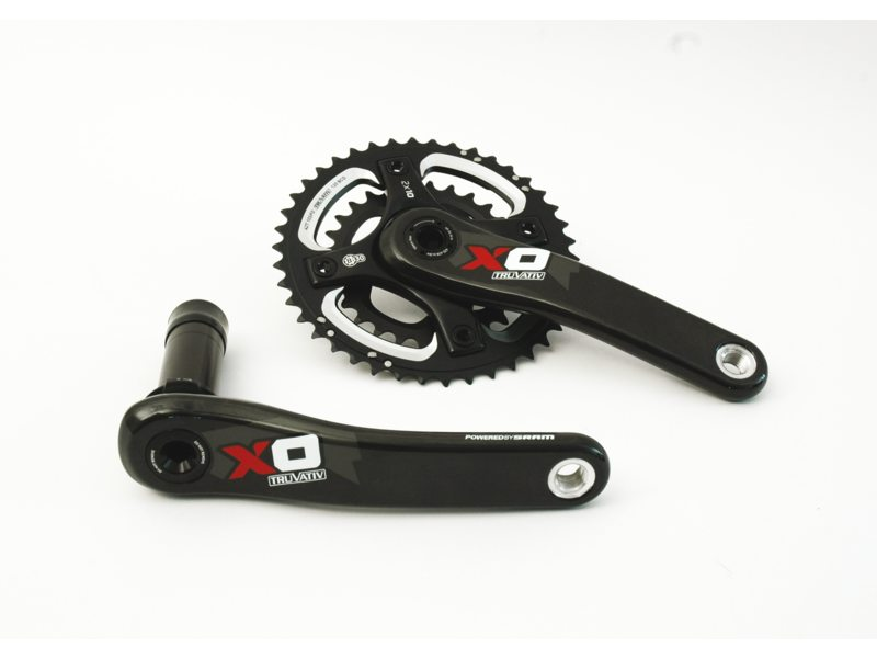 CRANK R+L SRAM X0 42-28TDS BB30 175MM ROOD EXCL LAGERS