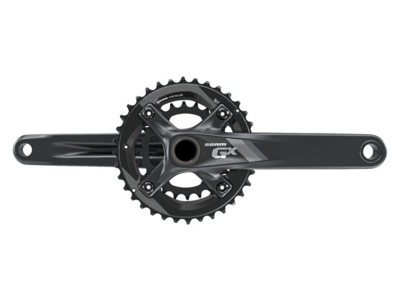 CRANK R+L SRAM GX 1000 38-24 TDS BB30 170MM 11 SPEED ZWART