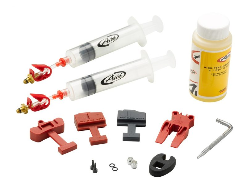 GRS SRAM HYDRO BLEED KIT BRAKE SRAM EXLUSIEF DOT 5.1 OLIE