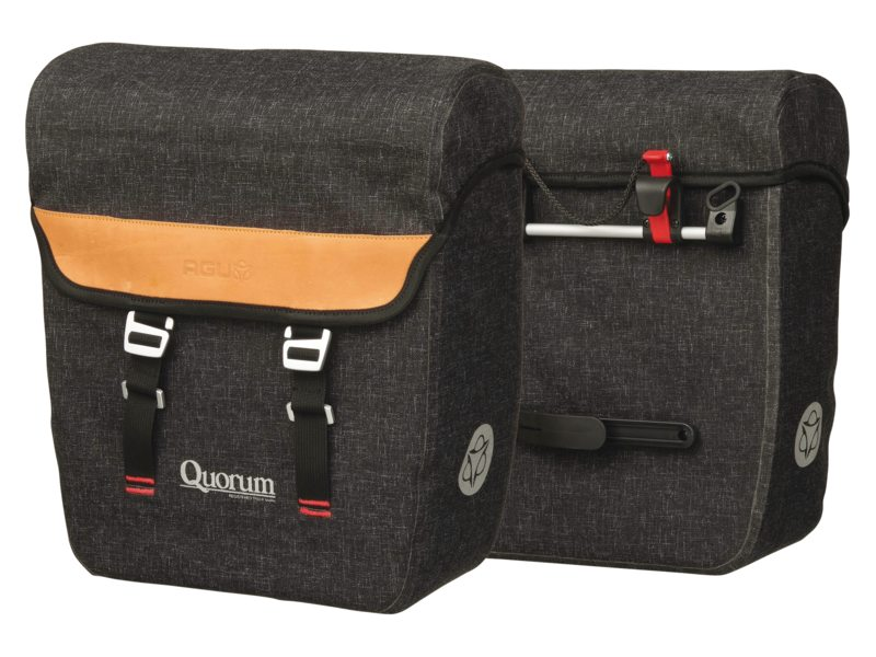 TAS ACHTER QUORUM 950 SET KLICKFIX WATERPROOF