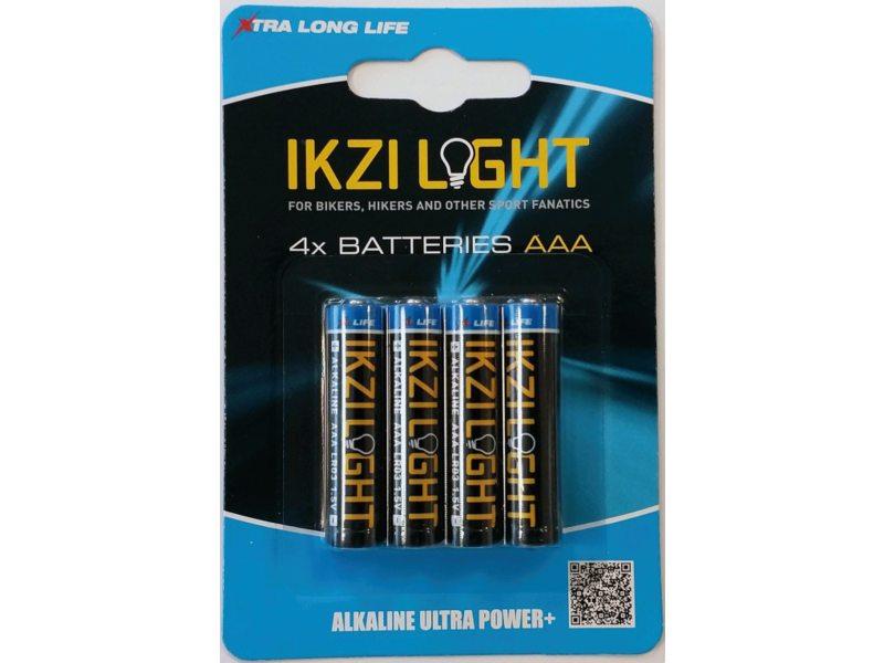 BATT IKZI ENERGY PENLITE LR03 AAA ALKALINE ULTRA POWER (4)