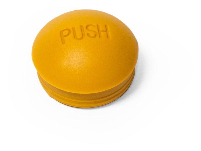 Burley stofkap geel t.b.v. push-button wielen