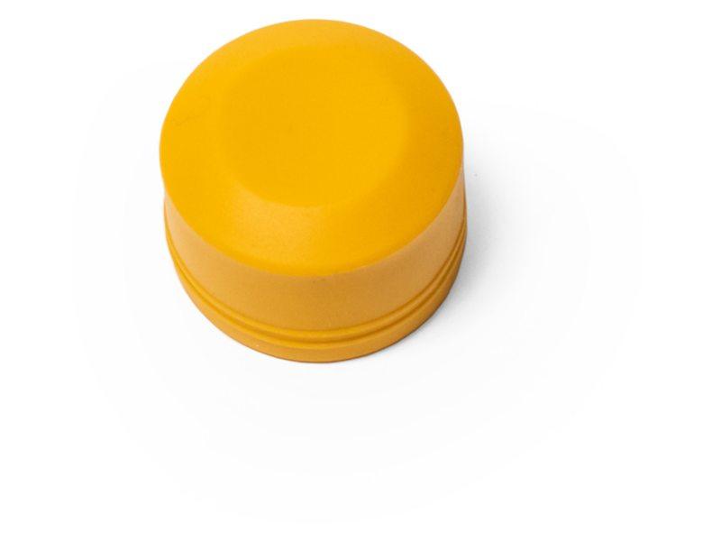 Burley stofkap plat geel t.b.v. push-button wielen