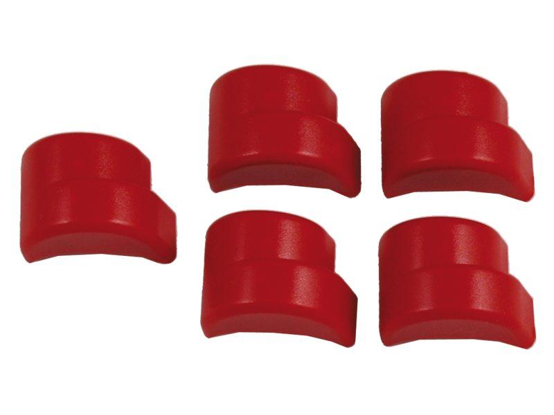 Axa slot knop defender wp(5) rood