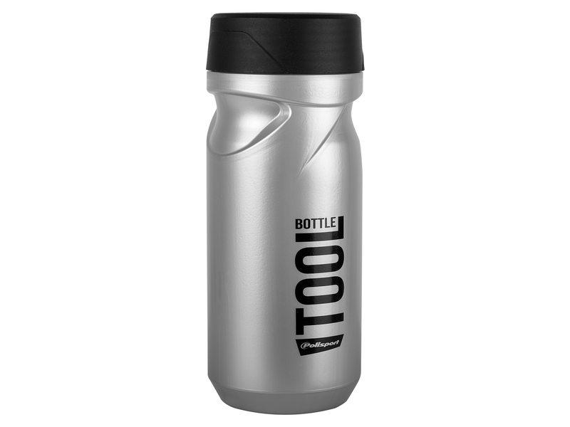 Polisport tool bottle zilver