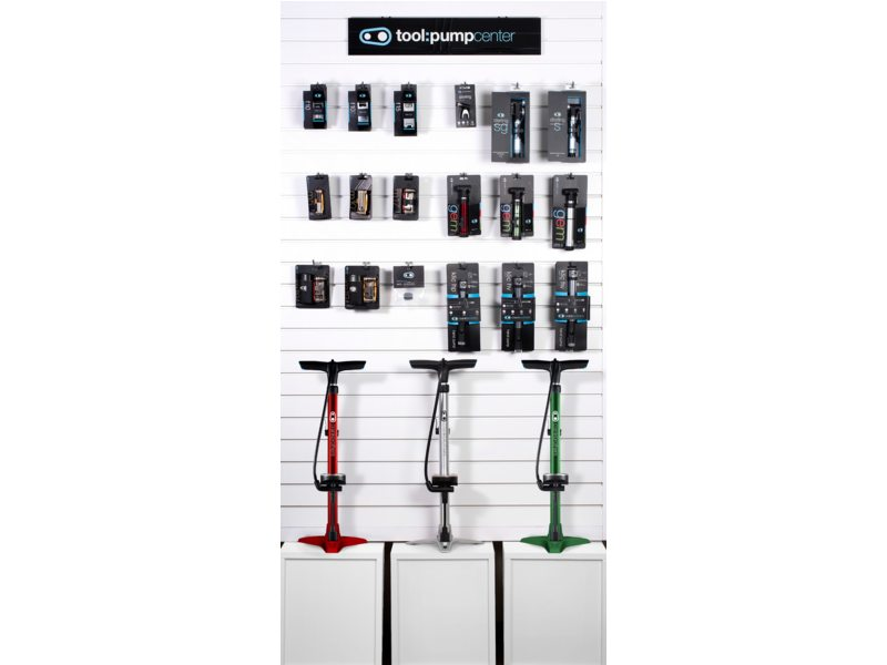 Crankbrothers pomp en multitools mini kit