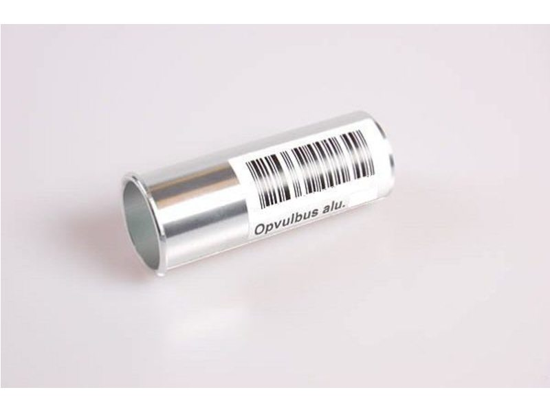Vulbus zadelpen aluminium 27.2-29.2mm
