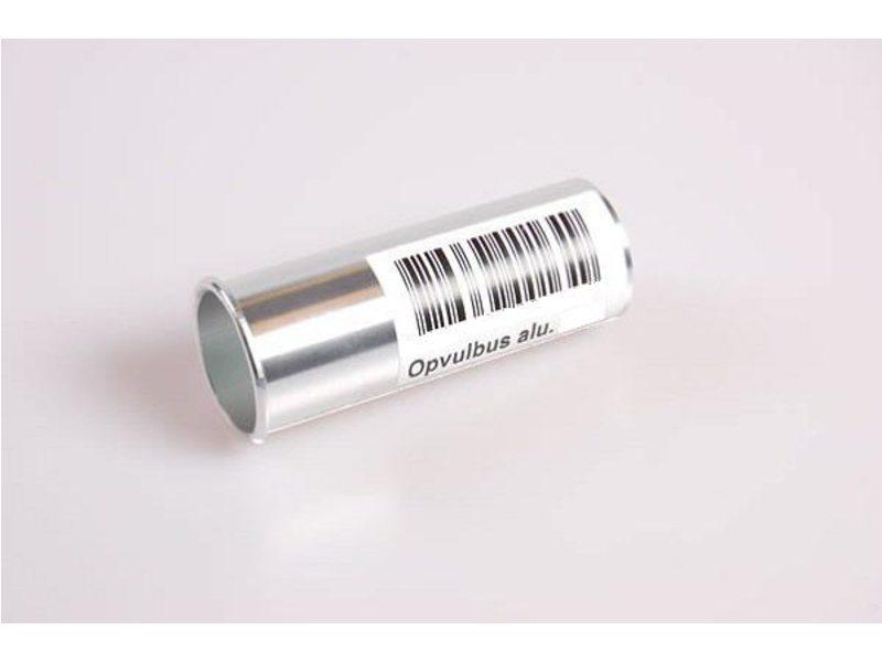 Vulbus zadelpen aluminium 27.2-29.8mm