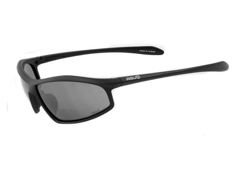 Agu bril masuto zwart bifocaal +1.00