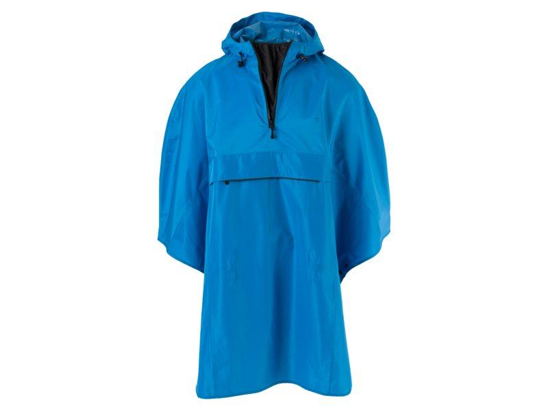 Agu poncho grant blue one size