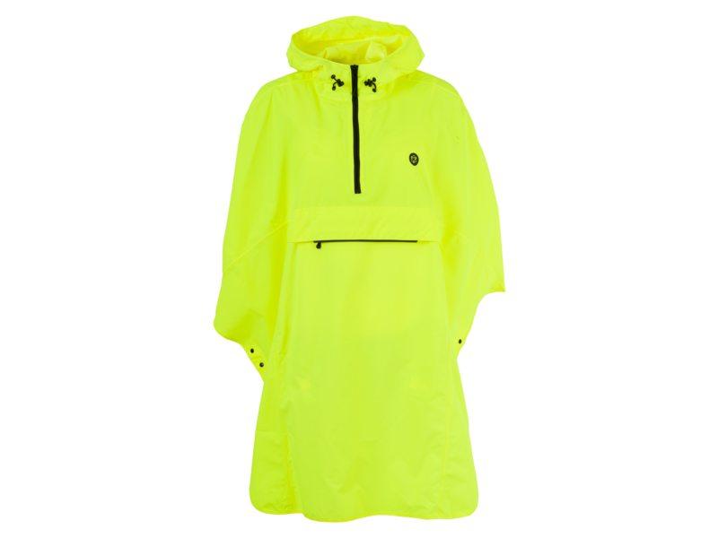 Agu poncho grant neon yellow one size