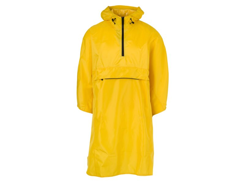 Agu poncho grant yellow one size
