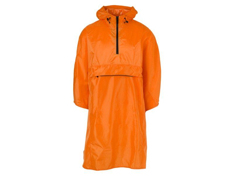 Agu poncho grant orange one size