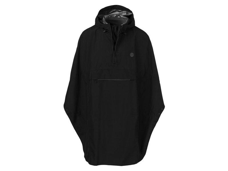 Agu poncho grant black one size