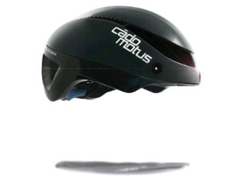 Cadomotus omega aerospeed helm zwart s (50-55 cm)