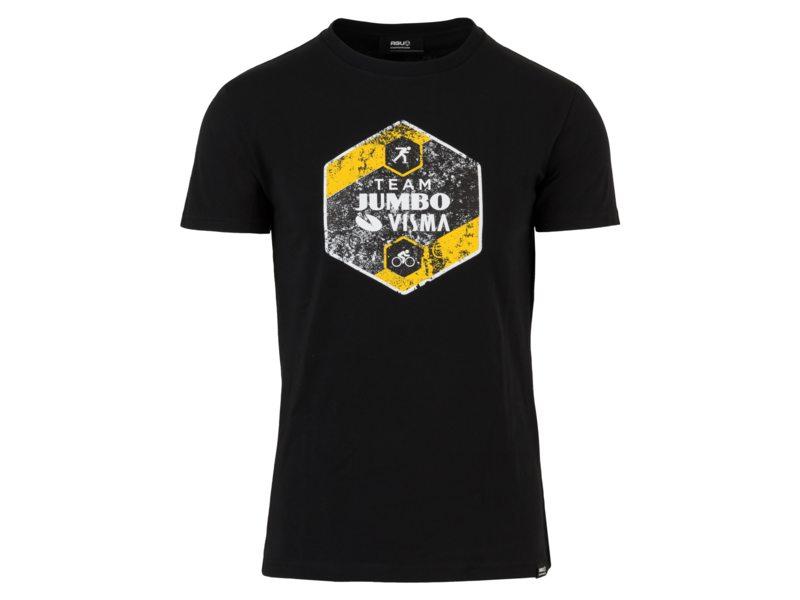 Agu tee jumbo-visma team logo black xxl